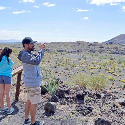 3 rutas para explorar El Pinacate