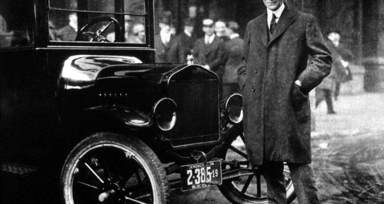 Historia de Henry Ford, un gran emprendedor
