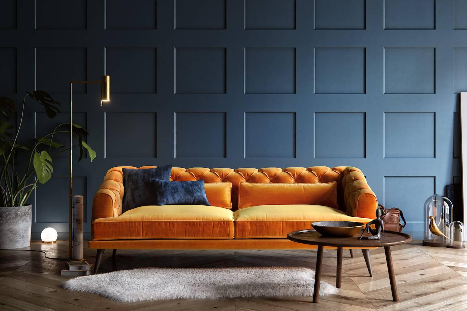 Tendencias de color para decoración de interiores 2020
