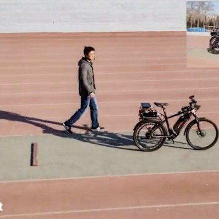 Desarrollan chip con IA capaz de mover una bicicleta con la voz