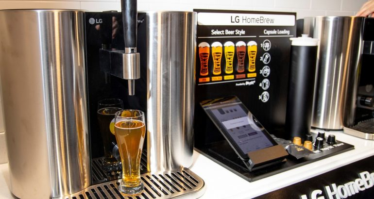 Crea LG máquina para hacer cerveza en casa