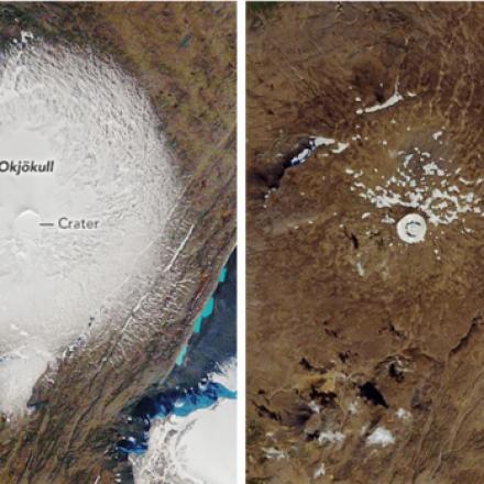 Malas noticias: Declaran «muerto» glaciar en Islandia