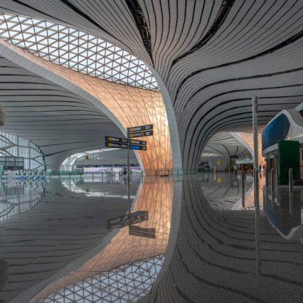 Concluyen la construcción del mega aeropuerto Daxing, en China