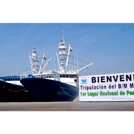 """Buque atunero """"Manzanillo"""" cierra temporada 2019 como el mejor de la flota mexicana con la mayor pesca de atún"""