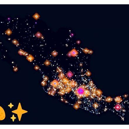 Taco Universe: El mapa que muestra las taquerías de México