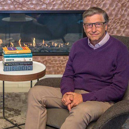 Los 5 mejores libros para finalizar el año, según Bill Gates