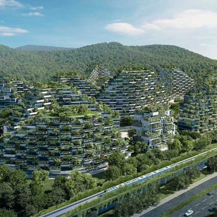 China está reinventando la arquitectura urbana con la primera ciudad forestal