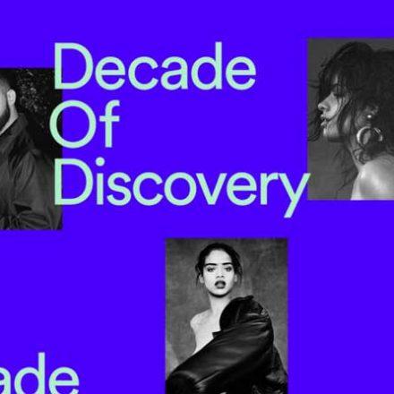 Estos son los artistas más escuchados de la década 2010-2019, según Spotify