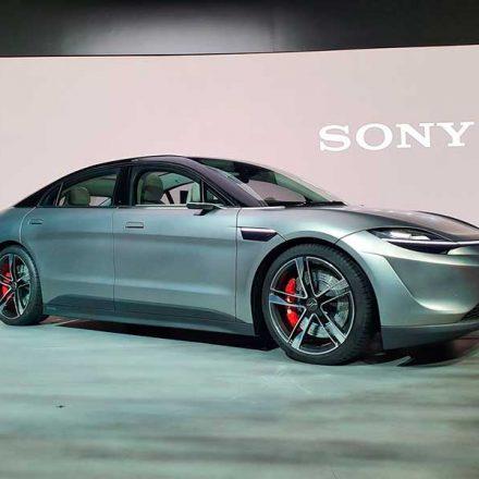 Vision-S, la nueva apuesta de Sony en la industria automotriz