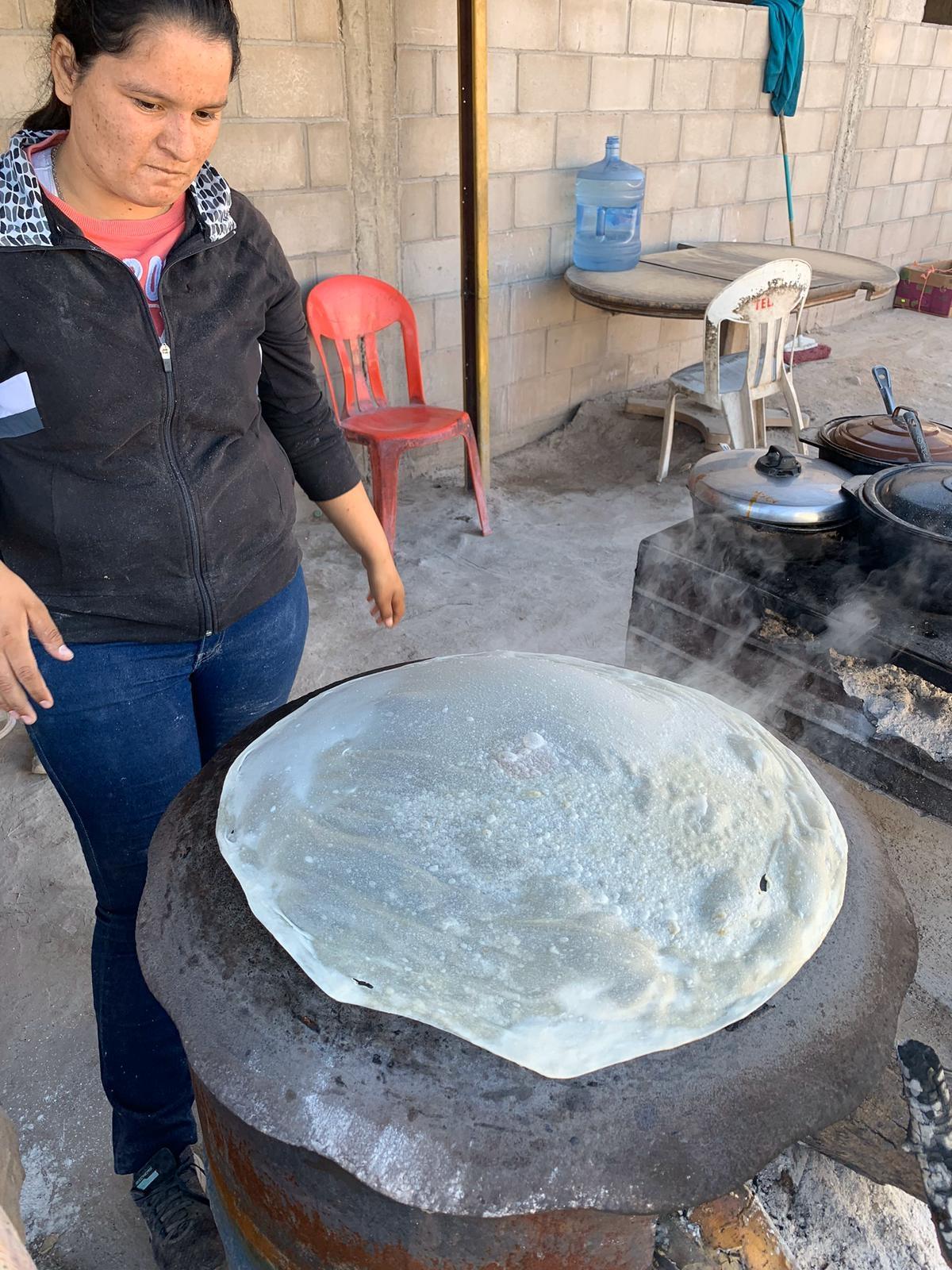 tortillas de harina tortillas grandes sonora Luis Fernando Heras Portillo