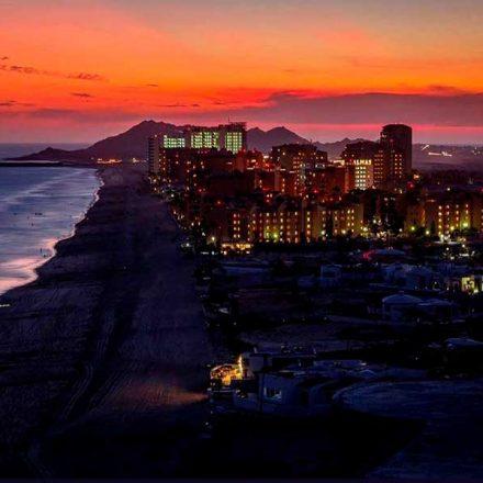 Foto Sonora: Atardecer en puerto Peñasco