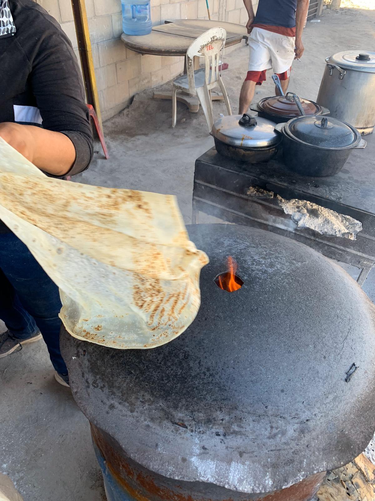tortillas grandes sonora Luis Fernando Heras Portillo