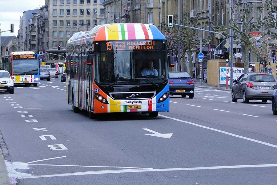 Luxemburgo, el primer país en ofrecer transporte público gratuito