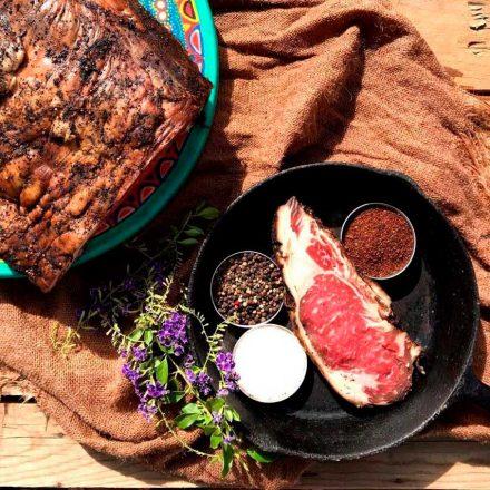 La carne añeja al estilo del Chef Crystian Acosta revoluciona a Las Palomas Beach & Golf Resort