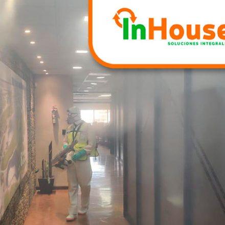 InHouse, respuesta profesional a necesidades de desinfección y sanitización