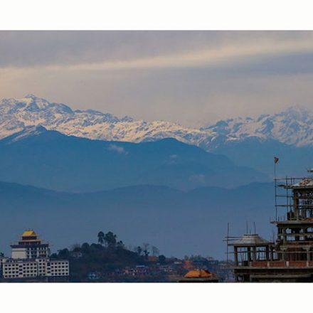 El Himalaya puede verse de nuevo en India gracias a la reducción de la contaminación