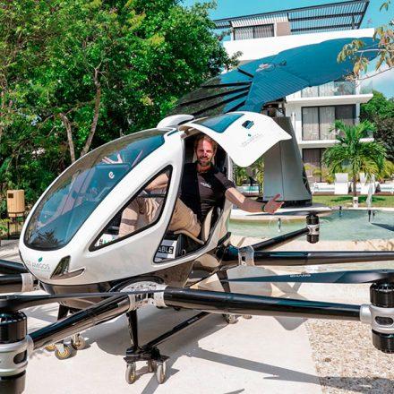 Así se ve el primer dron para pasajeros en México
