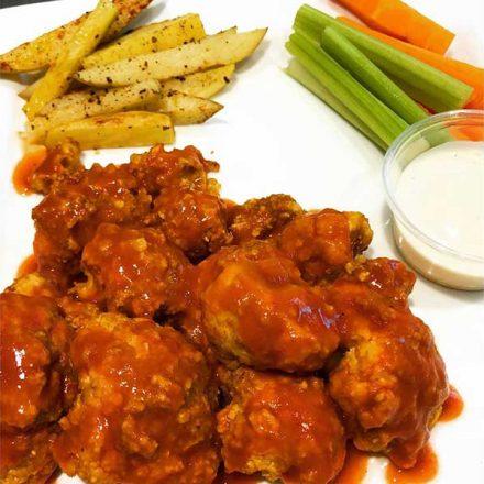 Receta de Boneless Veganos – Food & Beverage Lab