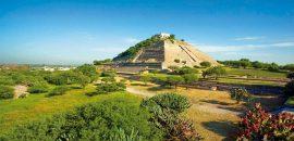 'El Cerrito', la majestuosa pirámide mexicana con un inusual edificio en su cima
