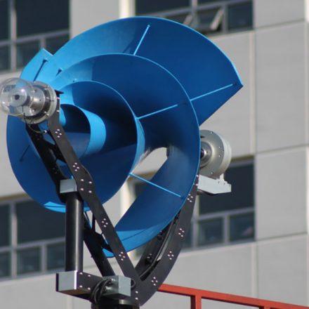 Compañía holandesa diseña una turbina eólica ideal para hogares