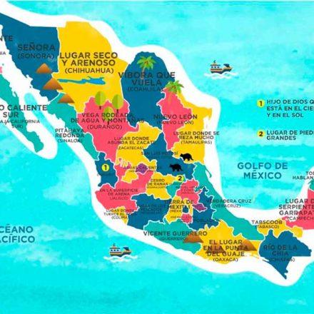 El significado de los nombres de los estados de México