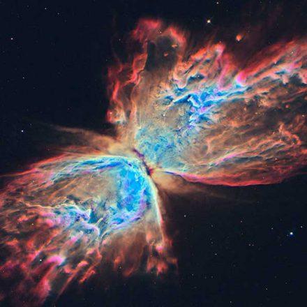 Nuevas imágenes del Hubble muestran cómo luce la nebulosa de la Mariposa