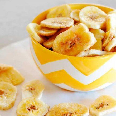 ¿Cómo hacer chips de plátano caseras?