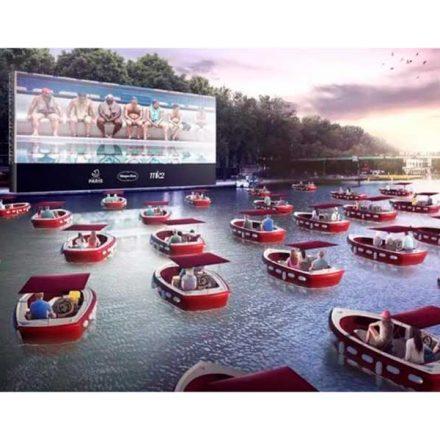 París organiza Cinema sur l'Eau, un autocine que flotará sobre el río Sena