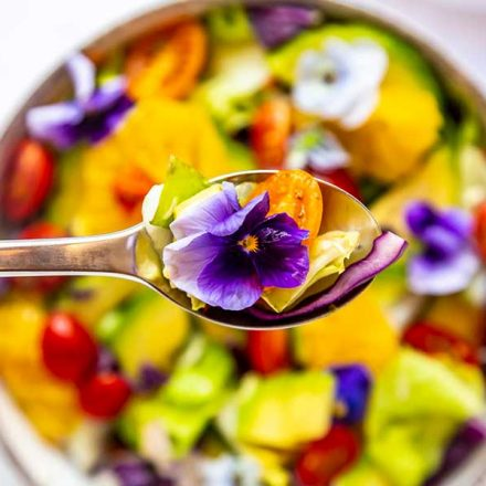10 flores comestibles y saludables