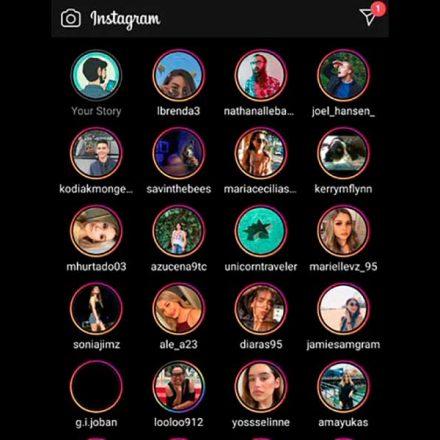 ¿Ver todas las stories de Instagram en pantalla completa? Así sería la nueva función