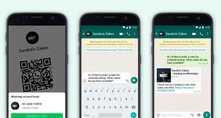 Nuevas opciones para tu negocio: WhatsApp estena funciones de códigos QR para empresas y mejoras en catálogos digitales