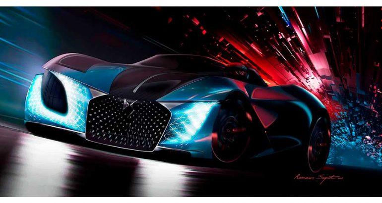 DS X E-Tense, el deportivo eléctrico del futuro