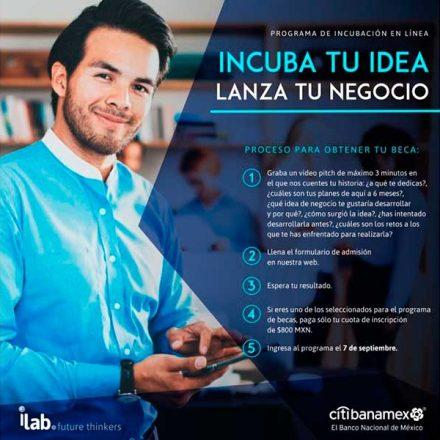 iLab y la agrupación Sonora Startups convocan a microempresarios y jóvenes a postularse para las becas Citibanamex 2020