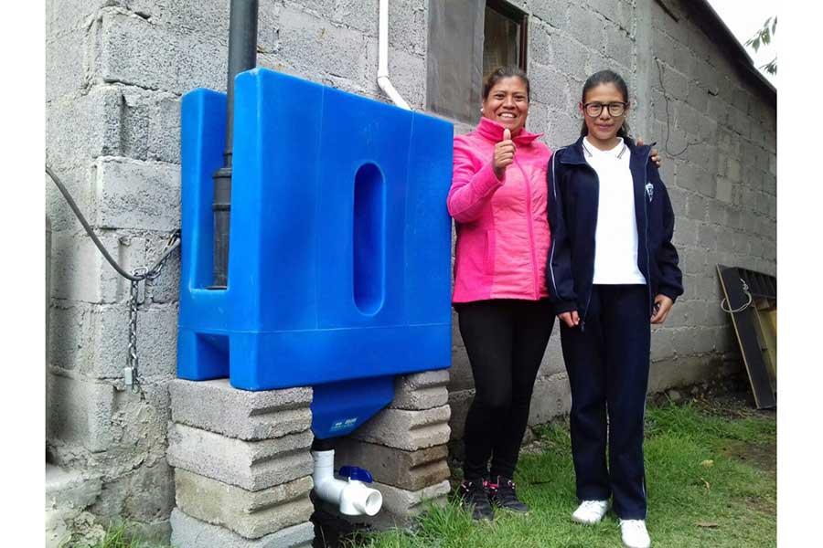 Mexicanos ganan primer lugar en concurso internacional con innovador proyecto de captación de agua de lluvia