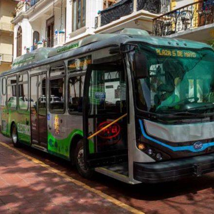 Panamá cancela pedido de autobuses de diésel; en cambio, compra 195 autobuses eléctricos