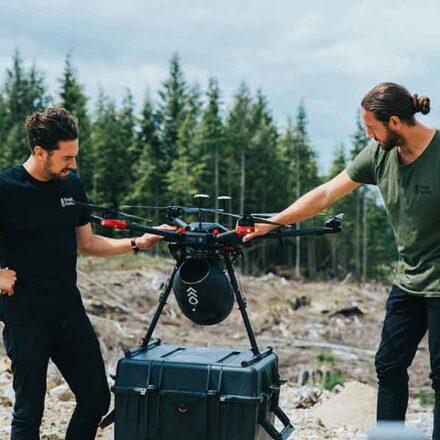 Flash Forest, la compañía canadiense que utiliza drones para reforestar a gran velocidad