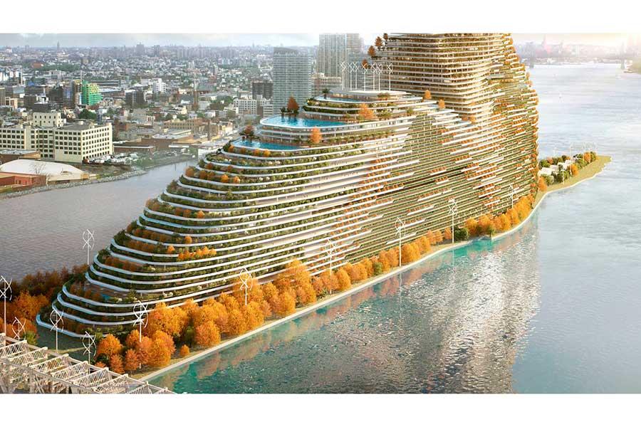 Nueva York tendrá un innovador atractivo: El edificio ecológico más alto de los últimos tiempos