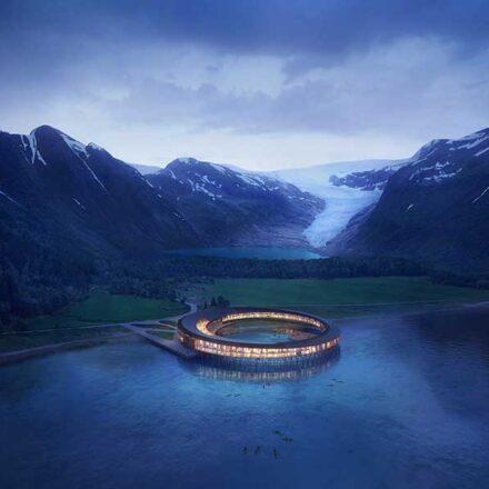 Svart, el hotel noruego eco-sustentable que producirá más energía de la que consumirá