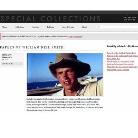 """""""Seri Bill"""", el antropólogo que vivió con los Comca'ac y fue su mejor promotor"""