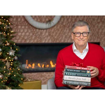 Los 5 libros recomendados por Bill Gates en 2020
