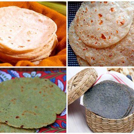 Diferentes tipos de tortillas en México