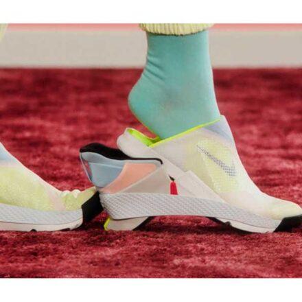 Nike crea calzado 'manos libres' que se quita y se pone sin tener que tocarlo
