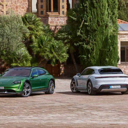 Presentan el nuevo Porsche Taycan Cross Turismo, el segundo auto eléctrico de la compañía alemana
