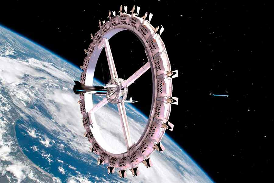El primer hotel espacial abrirá sus puertas en 2027; así es como se verá
