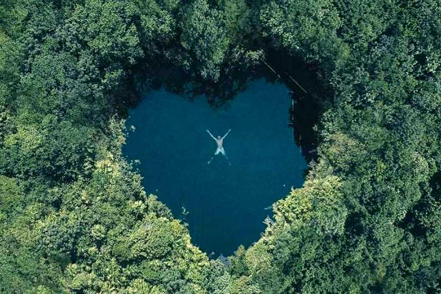 Cenote Corazón del Paraíso en Tulum, ¡te enamorará!