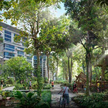 Singapur construirá una ciudad ecológica, sin autos y cubierta de plantas