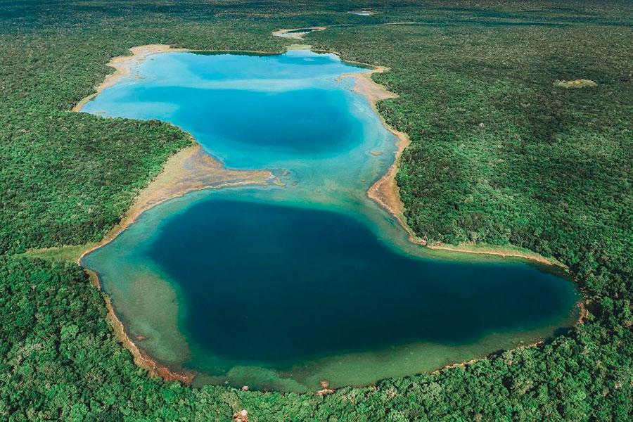 Ojos de agua en Yucatán que maravillan por su belleza milenaria