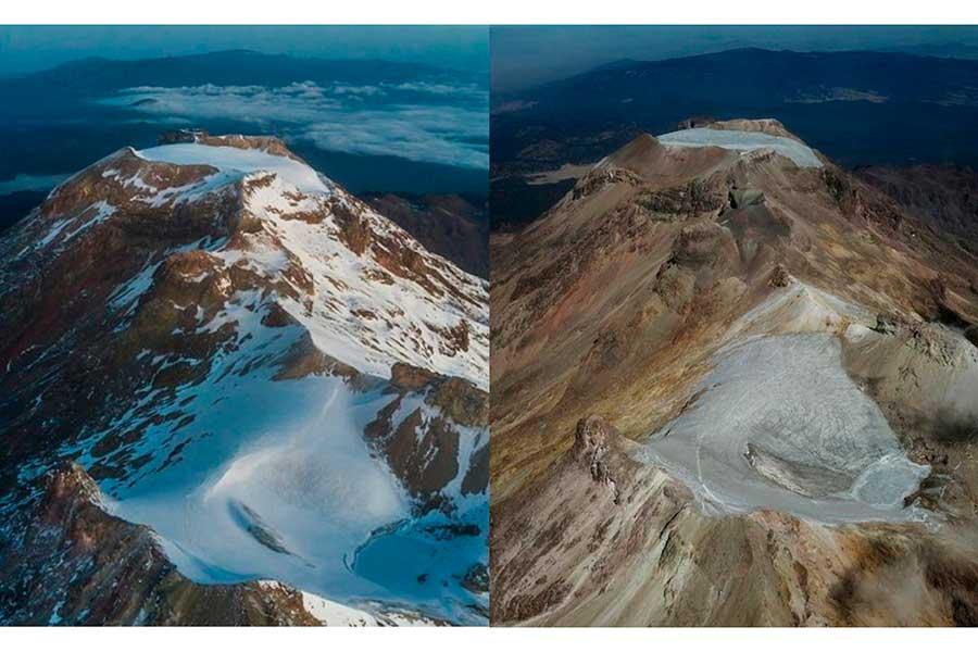 Ayoloco, el glaciar mexicano que fue declarado extinto