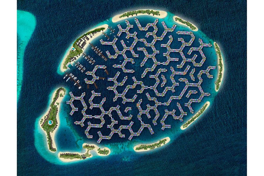Maldivas construirá una ciudad flotante para hacer frente al cambio climático