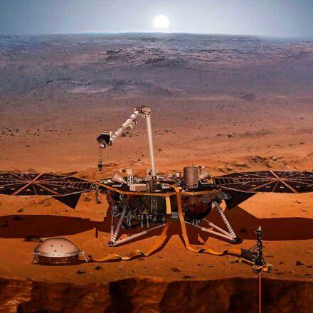 En un año, InSight registra más de 500 terremotos en Marte